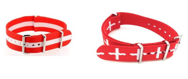 """bracelet Nato """"swiss spirit"""""""