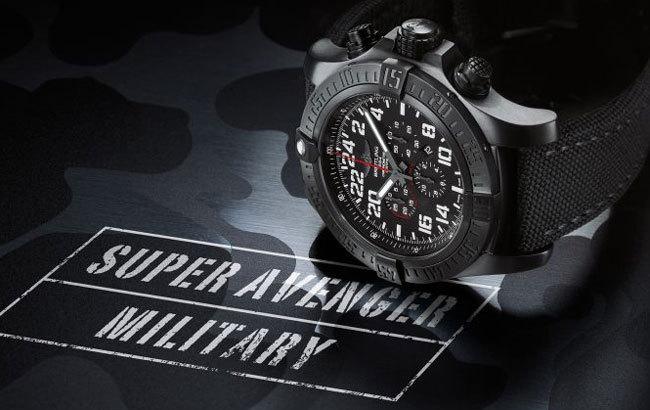 Breitling Super Avenger Série Limitée Military