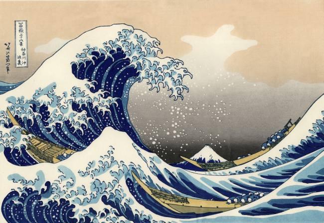 Jeanrichard : une Aquascope dont le cadran s'inspire d'une estampe japonaise