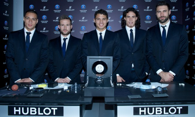 Hublot King Power Paris Saint-Germain : droit au but