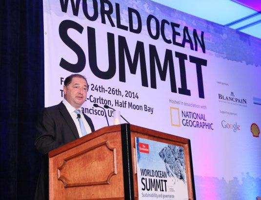 Blancpain : partenaire du World Ocean Summit 2014