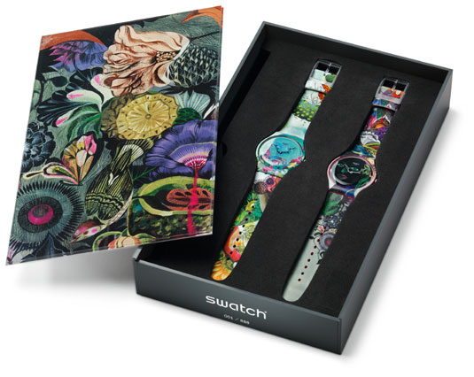 Swatch Art Specials Olaf Hajek