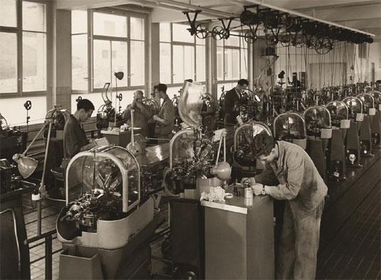 L'usine de Malleray en 1945