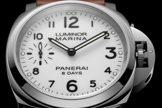 Luminor Base Huit Jours et P5000 : le nouveau standard Panerai