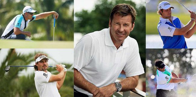 Audemars Piguet : quatre nouveaux ambassadeurs dans le golf