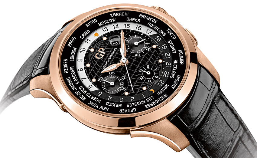 Girard-Perregaux Traveller WW.TC or rose