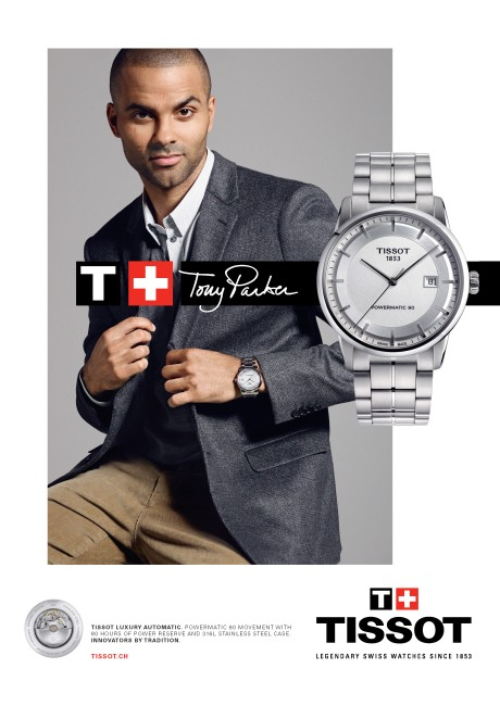 Tony Parker pour Tissot