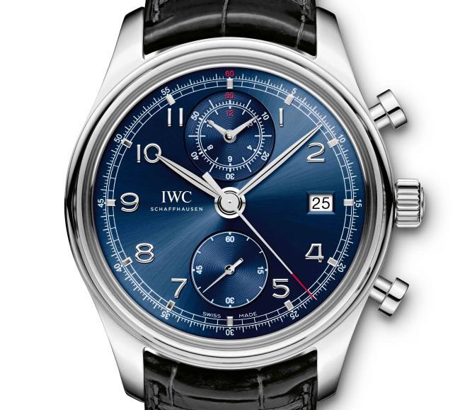 IWC Portugaise Chronographe Classique Edition « Laureus »