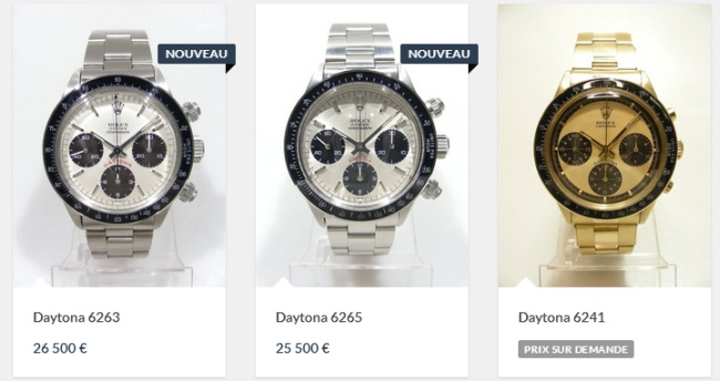 VintageDaytona.com : un site entièrement consacré aux Rolex Daytona « mécanique »