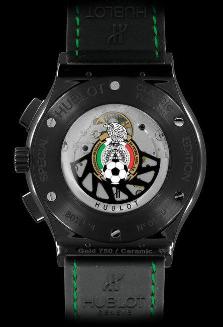 Hublot édition spéciale « Mexican Football Federation » : montre officielle de l'équipe nationale mexicaine