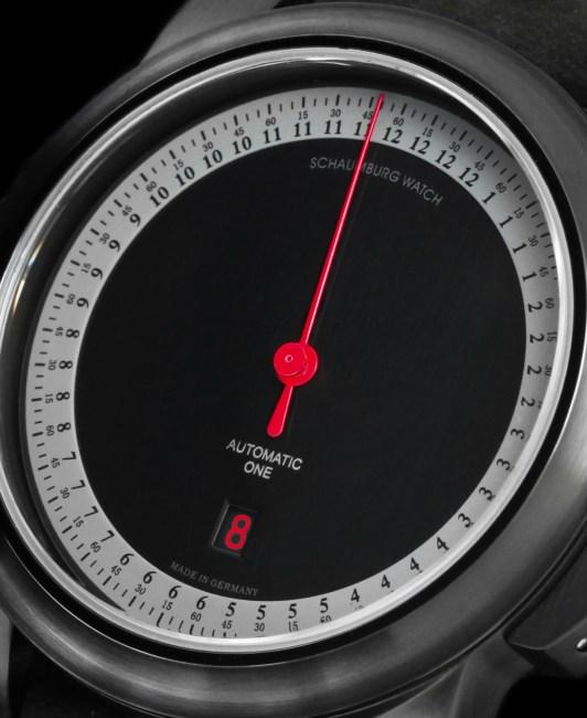 Schaumburg Watch Gnomonik GT Red Cup : sportive monoaiguille chez Red Army Watches