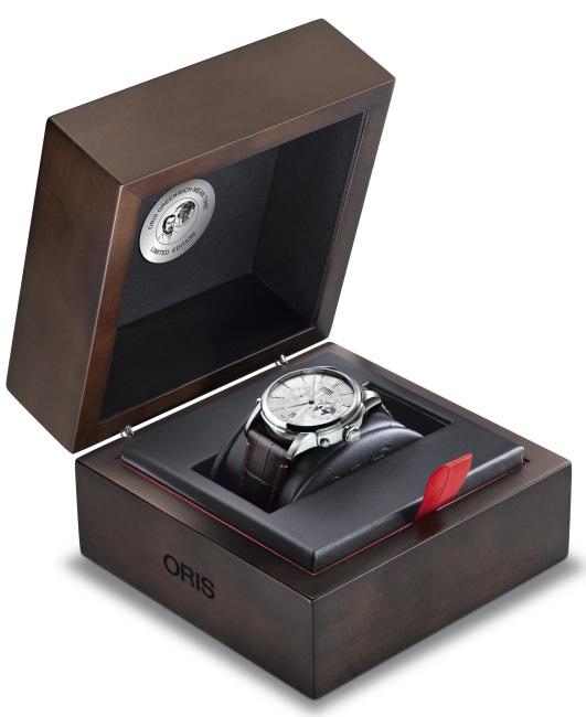 Oris Greenwich Mean Time Limited Edition : bel hommage à la fonction GMT