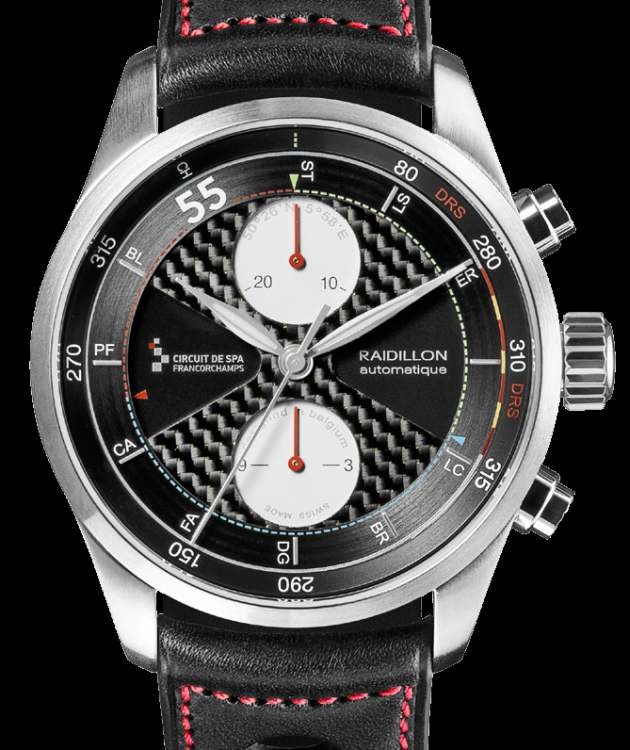 Raidillon : deux nouvelles montres en hommage à Spa-Francorchamps