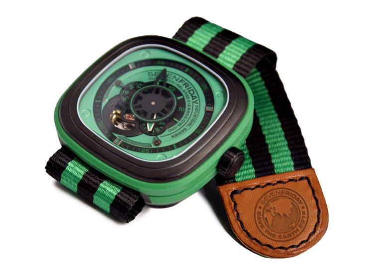 Red Army Watches : un bracelet Nato pour célébrer la planète avec SevenFriday