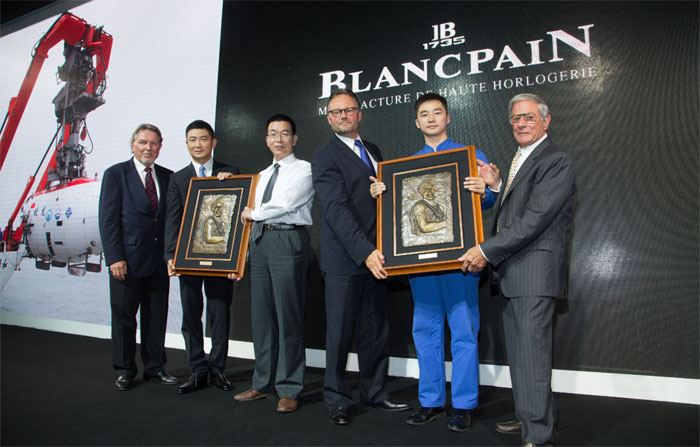 Blancpain : Hans Hass Fifty Fathoms Award 2014