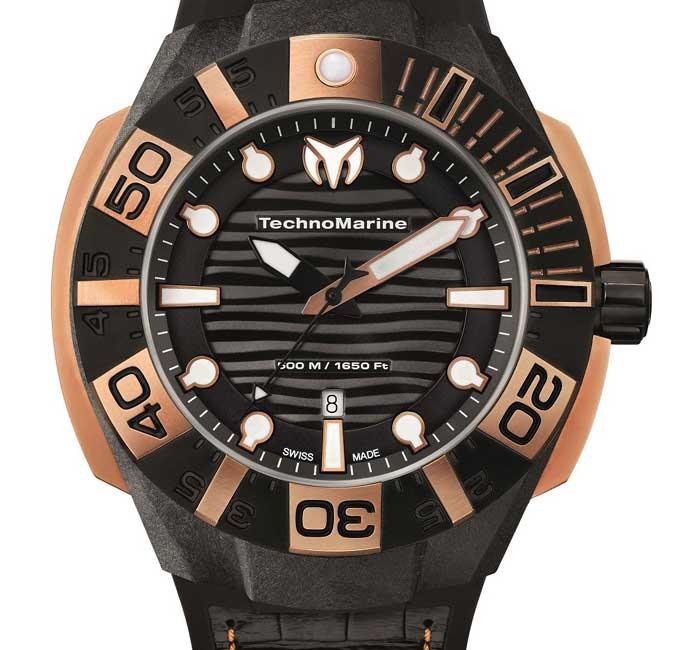 TechnoMarine BlackReef Gold MicroCarbon
