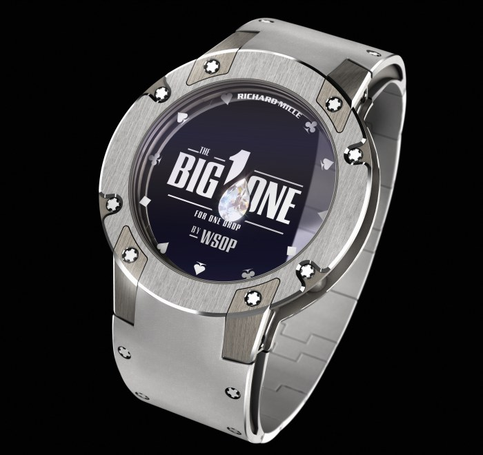 Big One For One Drop 2014 : Richard Mille offre un ...