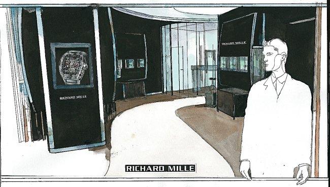 Richard Mille s'installe avenue Matignon