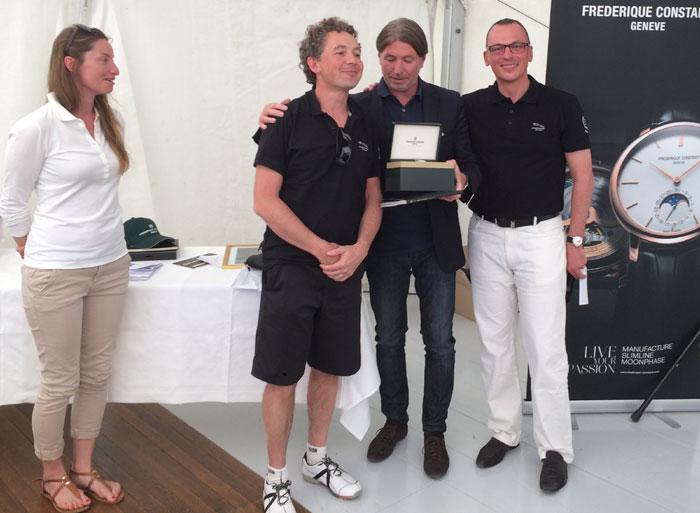 Golf : Frédérique Constant, sponsor de la Jaguar Cup