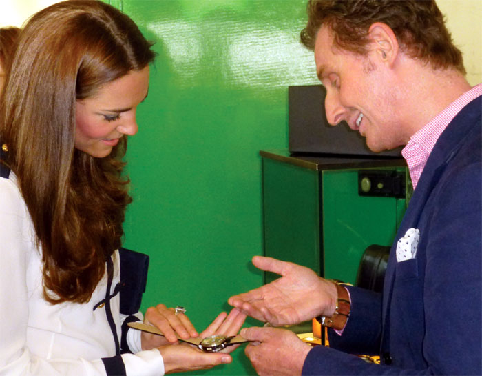Bletchley Park : Bremont accueille SAR la duchesse de Cambridge