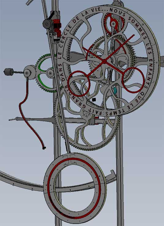 AoyAmA une horloge monumentale made in France s'envole pour le Japon