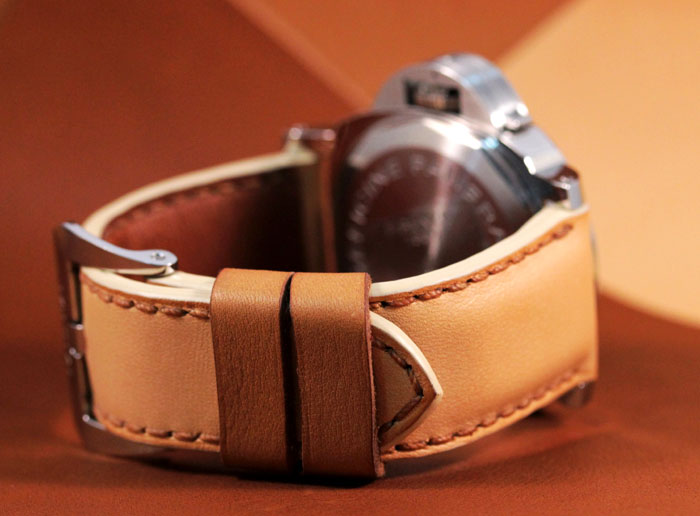 bracelet en veau Barenia par Atelier Thibot