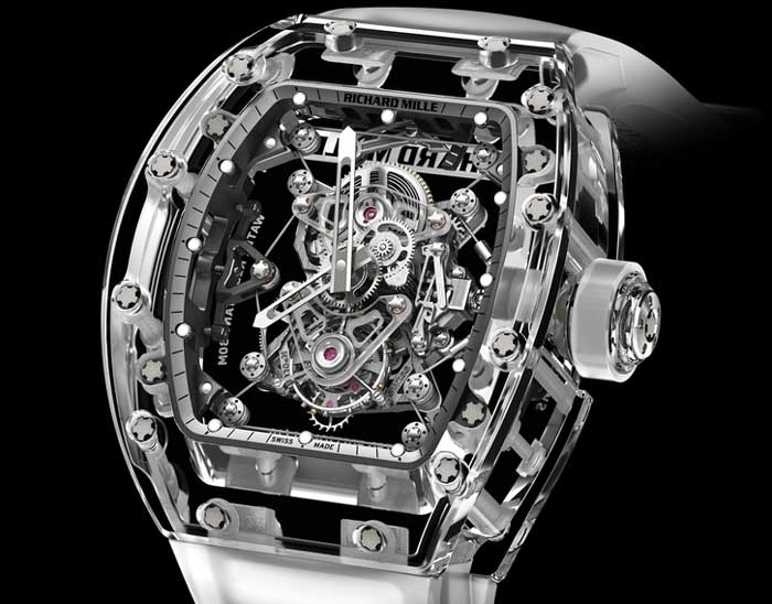 Richard Mille Tourbillon RM 56-02 Saphir