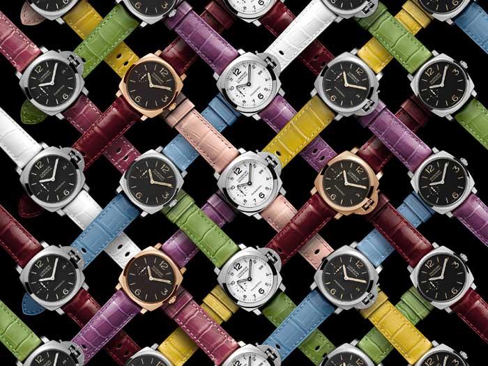 Panerai : onze nouvelles couleurs de bracelets