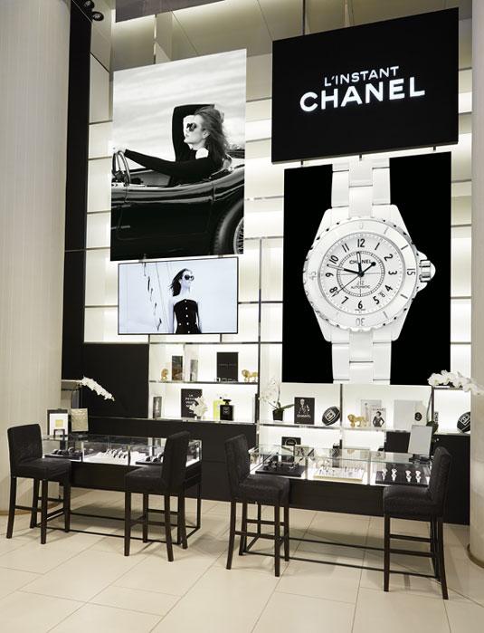 Chanel : un pop-up store horloger au Printemps du Louvre