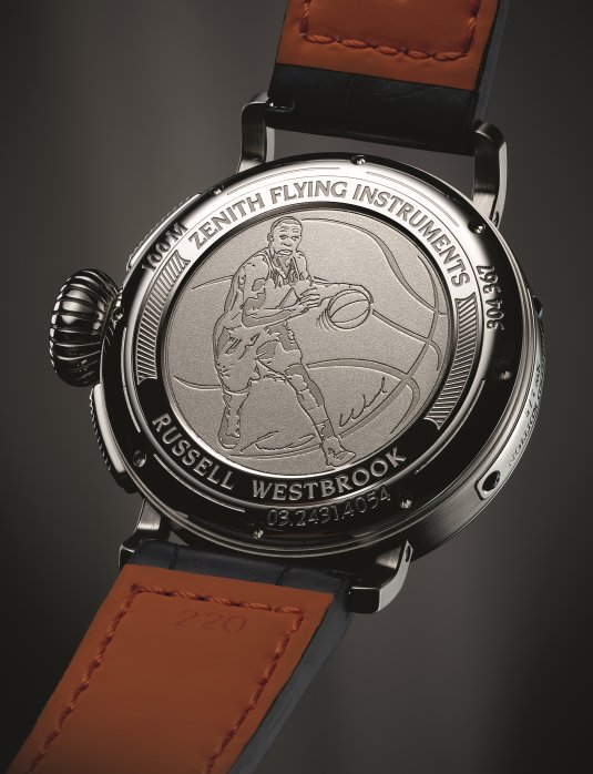 Zenith Pilot Type 20 Annual Calendar : Tribute to Russell Westbrook