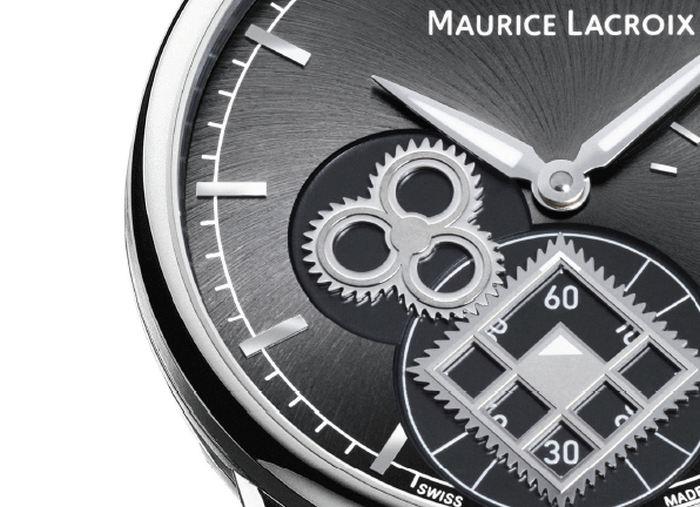 Maurice Lacroix Masterpiece Square Wheel Classic et Vintage : le roue carrée, toujours…