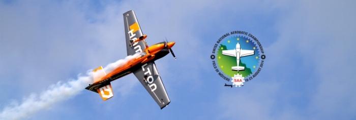 Hamilton sponsor des Swiss National Aerobatics Championship