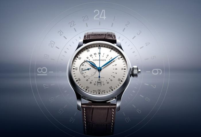 The Longines Twenty-Four Hours Single Push-Piece Chronograph : montre de pilote
