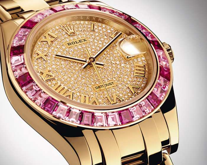 Rolex Oyster Perpetual Datejust Pearlmaster 34