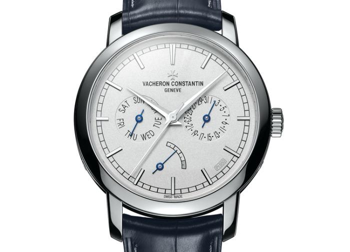 Vacheron Constantin Traditionnelle Date-Jour et Réserve de Marche Collection Excellence Platine