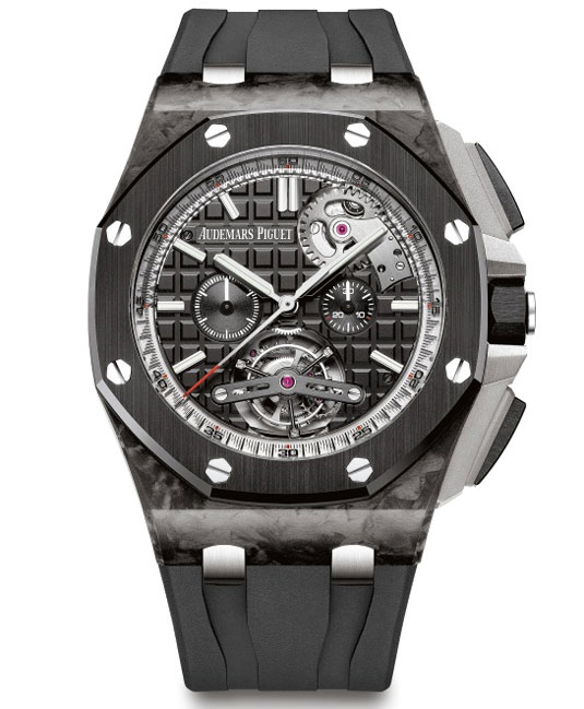 Tourbillon Chronographe Royal Oak Offshore Automatique : exclu Watches & Wonders