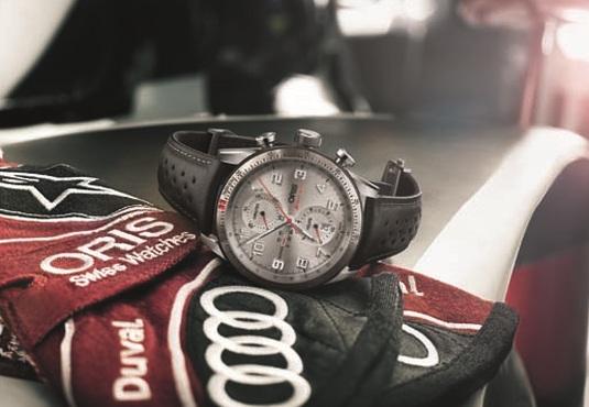 Oris Audi Sport Limited Edition : un design qui s'inspire des tableaux de bord Audi