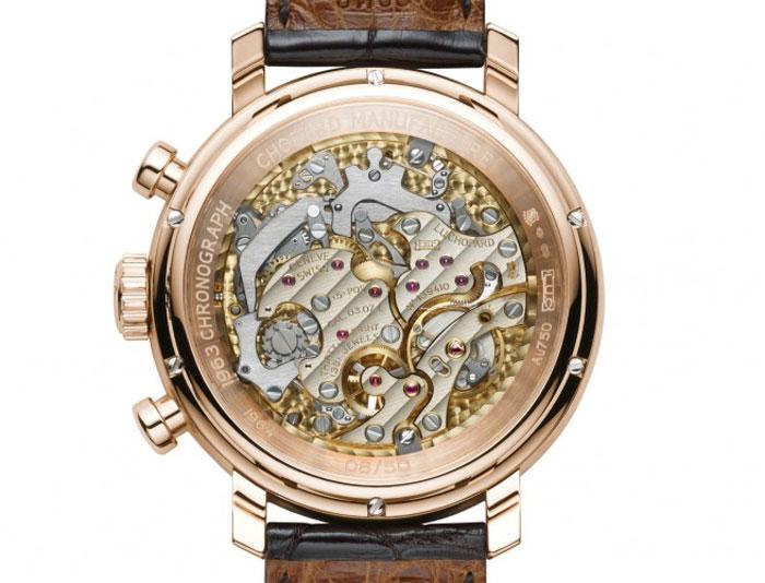 Chopard L.U.C 1963 Chronograph : chrono à remontage manuel par excellence