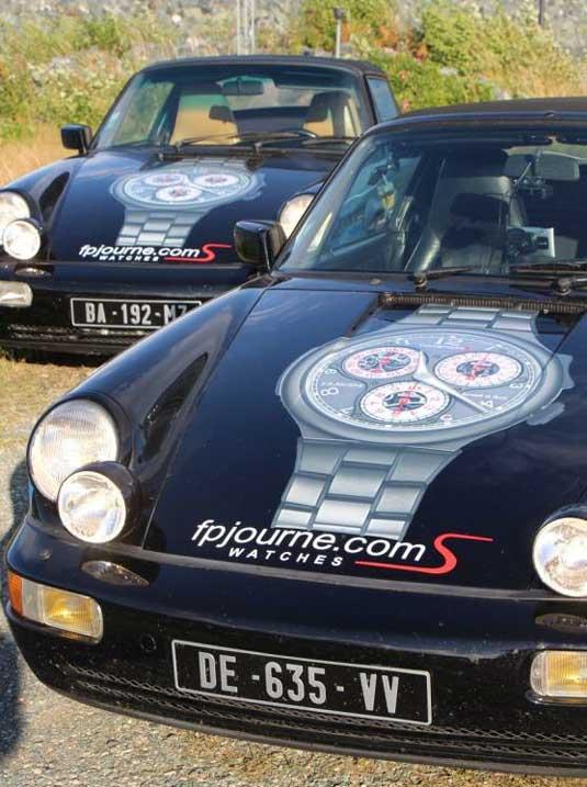 F.P. Journe : partenaire de la course auto « La Diagonale Des Fous : d'Anchorage à Miami par la route »