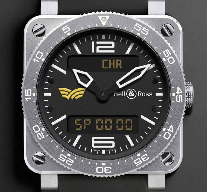 Bell&Ross BR 03 – Aviation Type Alpa-S : pour les pilotes singapouriens