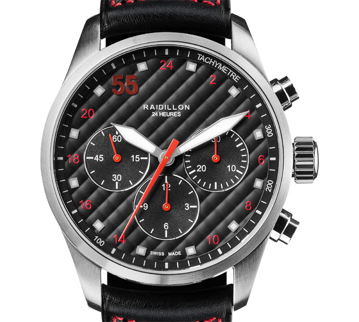 Raidillon chronographe 24 h