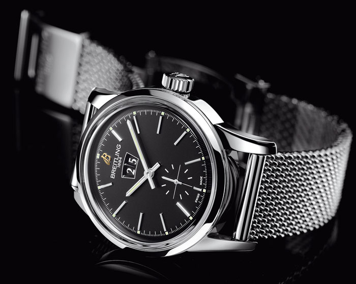 Breitling Transocean 38 mm : voyage mixte