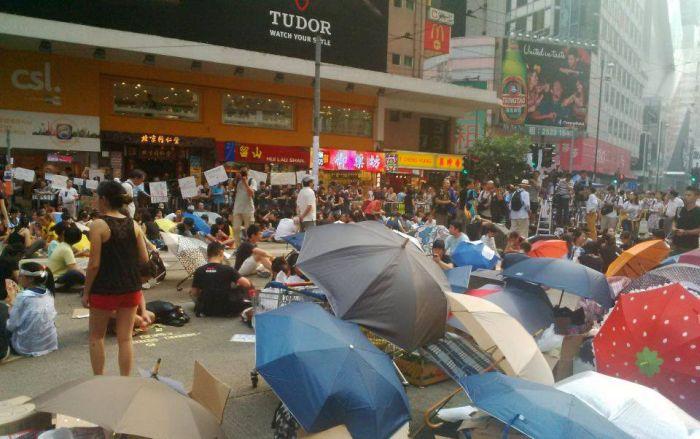 Hong Kong : des manifestations qui menacent le marché du luxe…