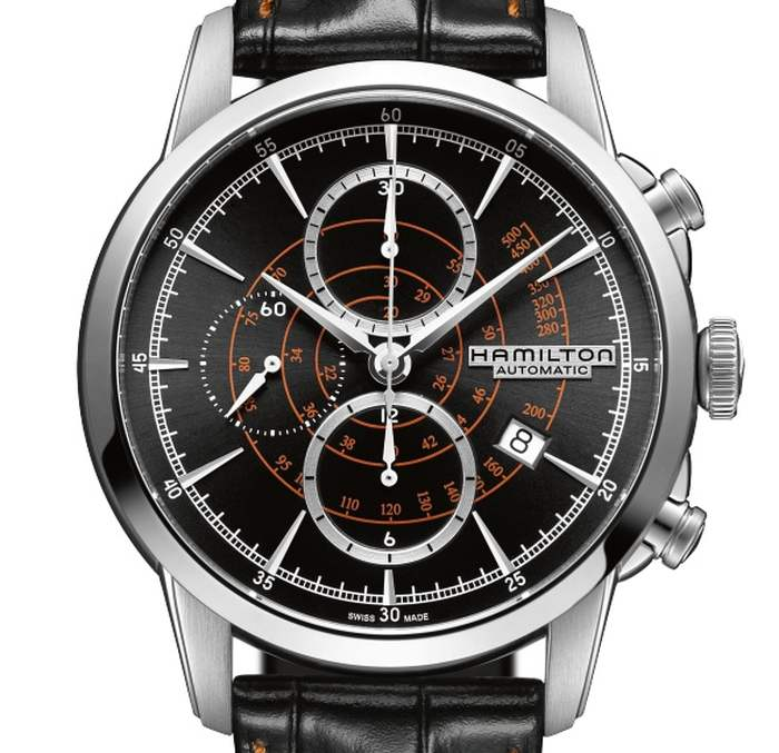 Hamilton RailRoad Auto Chrono