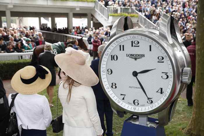Longines : chronométreur officiel du Prix de l'Arc de Triomphe