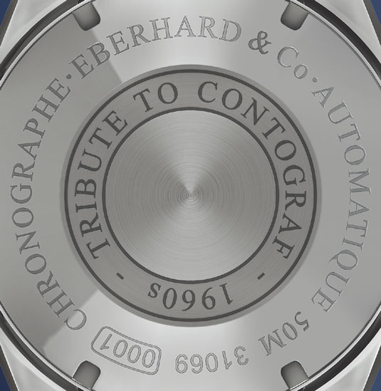 Tribute to Contograph : Eberhard & Co à l'honneur chez Louis Pion à Paris