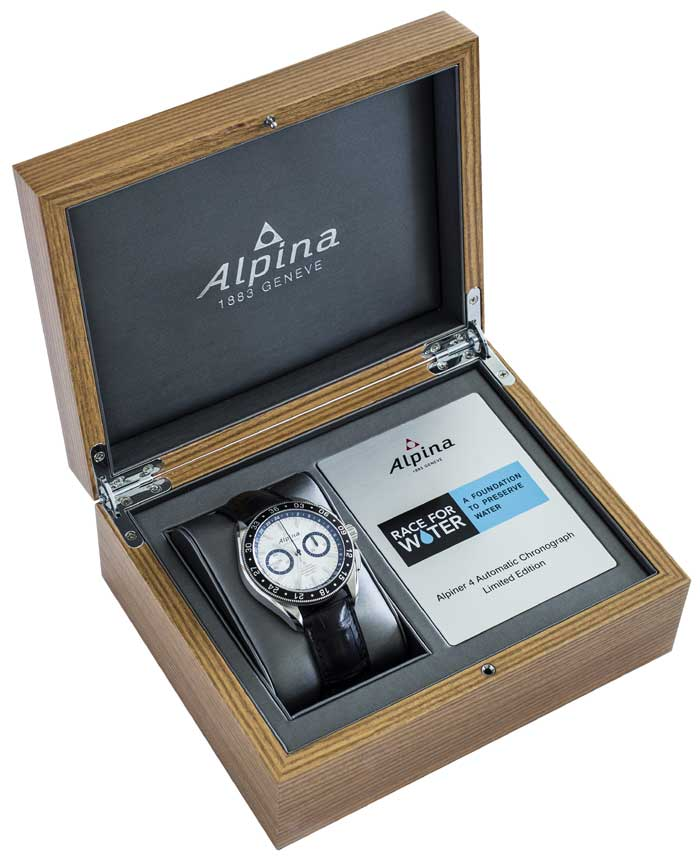 Alpiner 4 chronographe « Race for water »