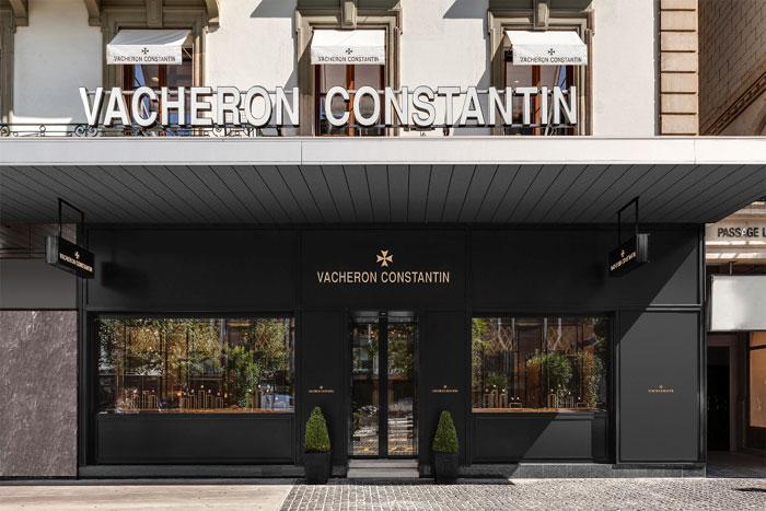 Genève : réouverture de la boutique Vacheron Constantin au numéro 1 de la place de Longemalle