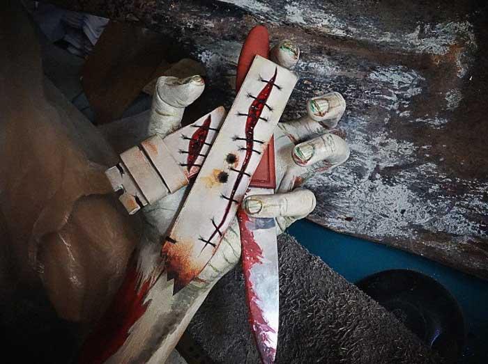 bracelet-montre Halloween Gunny Straps