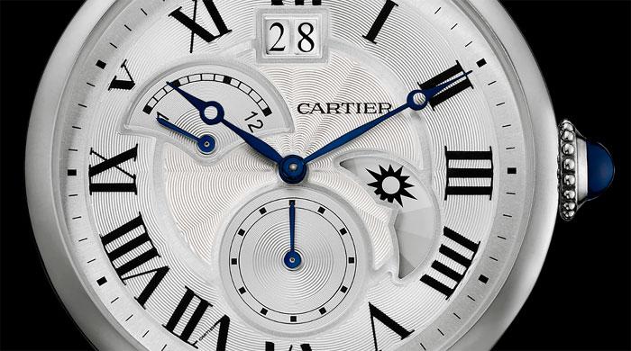 Cartier Rotonde Second fuseau horaire jour/nuit